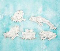Prima - Shabby Chic Treasures by Ingvild Bolme - Resin Frogs