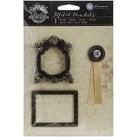 Prima - Timeless Memories Collection - Metal Trinkets - Memoir
