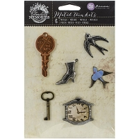 Prima - Timeless Memories Collection - Metal Trinkets - Remembrance