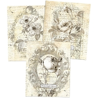 Prima - Everyday Vintage Paintables Prints - Belle Fleur (8