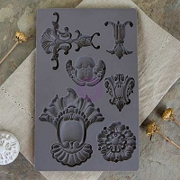 Prima - Iron Orchid Designs - Vintage Art Decor Moulds - Baroque 2