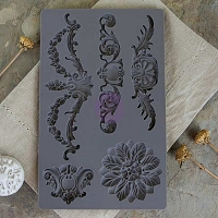 Prima - Iron Orchid Designs - Vintage Art Decor Moulds - Baroque 3