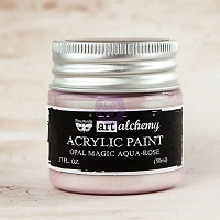 Prima - Art Alchemy - Acrylic Paint-Opal Magic Aqua-Rose by Finnabair