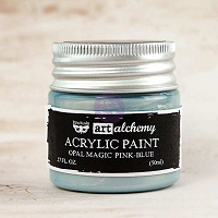 Prima - Art Alchemy - Acrylic Paint-Opal Magic Pink-Blue by Finnabair