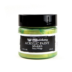 Prima - Art Alchemy Acrylic Paint - Sparks Fairy Wings by Finnabair