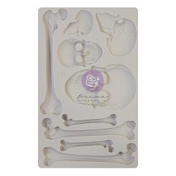 Prima - Re-design Silicone Mould - Skull & Bones