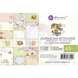 Prima - Fruit Paradise Collection - 4x6 Journaling Cards