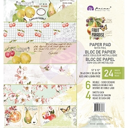 Prima - Fruit Paradise Collection - 12X12 Paper Pad