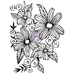 Prima - Christine Adolph Cling Stamps - Daisy May