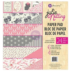 Prima - Julie Nutting Collection - 12x12 Paper Pad