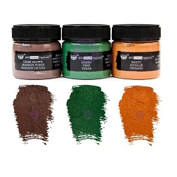 Prima - Art Extravagance - Metal Rust Effect Paste Set (3 jars) by Finnabair