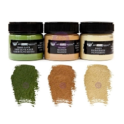 Prima - Art Extravagance - Camouflage Rust Effect Paste Set (3 jars) by Finnabair