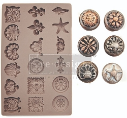 Prima - Redesign Mould - Seashore Treasures