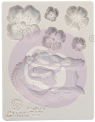Prima - Finnabair Decor Mould Flower Queen