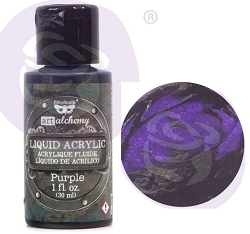 Prima - Finnabair Art Alchemy - Liquid Acrylic Purple