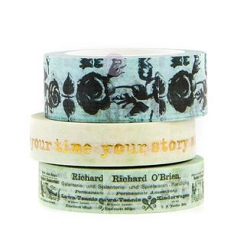 Prima - Finnabair Art Daily Your Story Decorative Tape