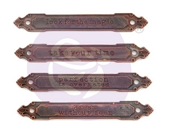 Prima - Finnabair Mechanicals Set Rusty Labels
