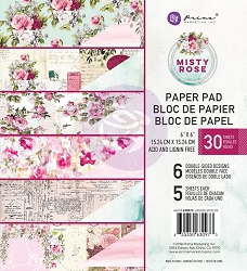 Prima - Misty Rose Collection - 6x6 Paper Pad