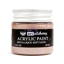 Prima - Art Alchemy - Acrylic Paint - Metallique Soft Satin by Finnabair