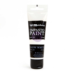 Prima - Finnabair Art Alchemy - Impasto Paint - Snow White