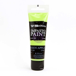 Prima - Finnabair Art Alchemy - Impasto Paint - Green Apple