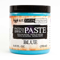 Prima - Art Extravagance - Blue Patina Effect Paste by Finnabair (8.45floz/250 ml jar)