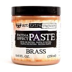 Prima - Art Extravagance - Brass Patina Effect Paste by Finnabair (8.45floz/250 ml jar)