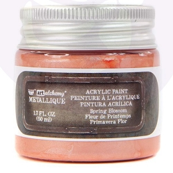 Prima - Art Alchemy Acrylic Paint - Metallique Spring Blossom by Finnabair