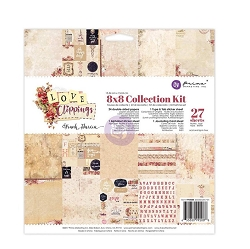 Prima - Love Clippings Collection - 8x8 Collection Kit (paper pad)