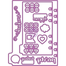 Prima - My Prima Planner Metal Die - Shapes #3