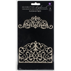 Prima - Chipboard - Flourish Gate