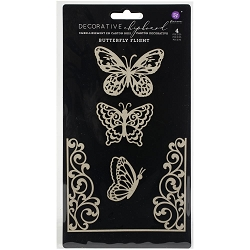 Prima - Chipboard - Butterfly Flight