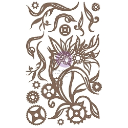 Prima - Chipboard - Steampunk Blooms by Finnabair