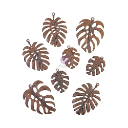 Prima - Finnabair Rusty Monstera Metal Embellishment