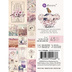 Prima - Moon Child Collection - 3x4 Journaling Cards