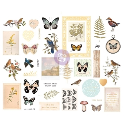 Prima - Nature Lover Collection - Chipboard Stickers