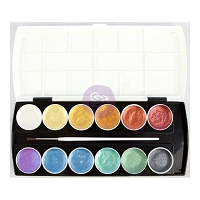 Prima - Metallic Accents Semi-Watercolor Paint Set