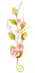 Prima - Pretty Mosaic Collection Flowers - Susie