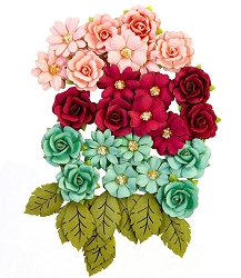 Prima - Pretty Mosaic Collection Flowers - Amazonite