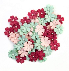 Prima - Pretty Mosaic Collection Flowers - Carnelian