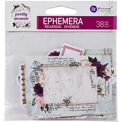 Prima - Pretty Mosaic Collection - Ephemera
