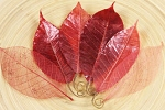 Prima Temple Leaves - Red