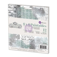 Prima - Salvage District Collection - 6x6 Paintable Pad