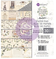 Prima - Spring Farmhouse Collection - 6x6 Paper Pad