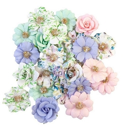 Prima - Watercolor Floral Collection Flowers - Tiny Colors