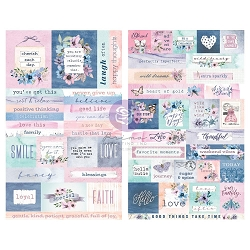 Prima - Watercolor Floral Collection - Planner stickers