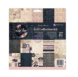 Prima - Wild & Free Collection - 8x8 Collection Kit (paper pad)