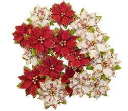 Prima - Christmas In The Country Collection Flowers - Kris Kringle