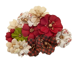 Prima - Christmas In The Country Collection Flowers - St. Nick