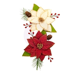 Prima - Christmas In The Country Collection Flowers - Sleigh Ride
